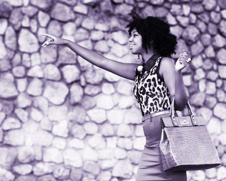 Denim & Cateye Fashion Blogger :: Diana Machira Kenyan Vlogger