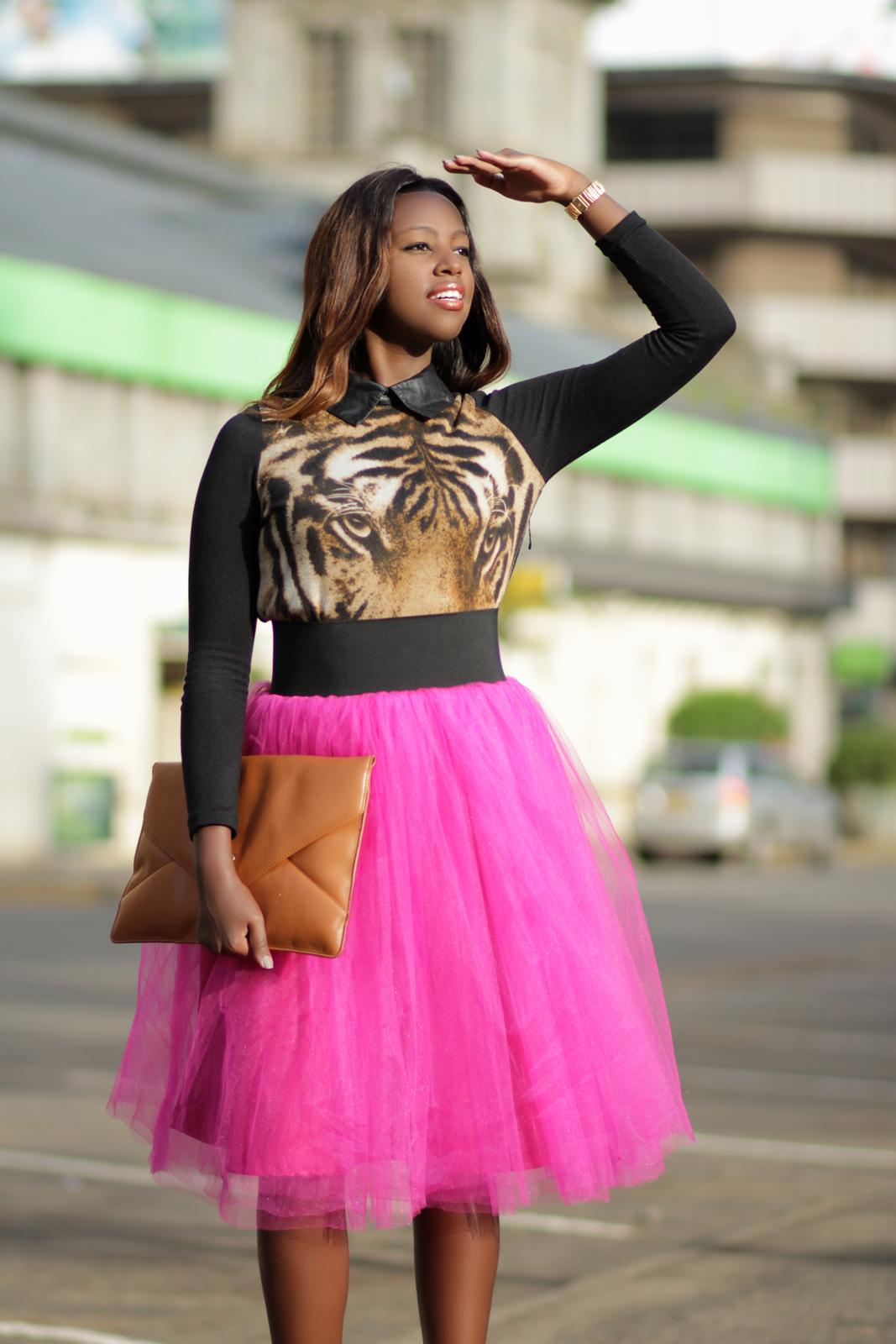 Kenyan Fashion Photographers :: Denim & Cateye Kenya Fashion Blogger