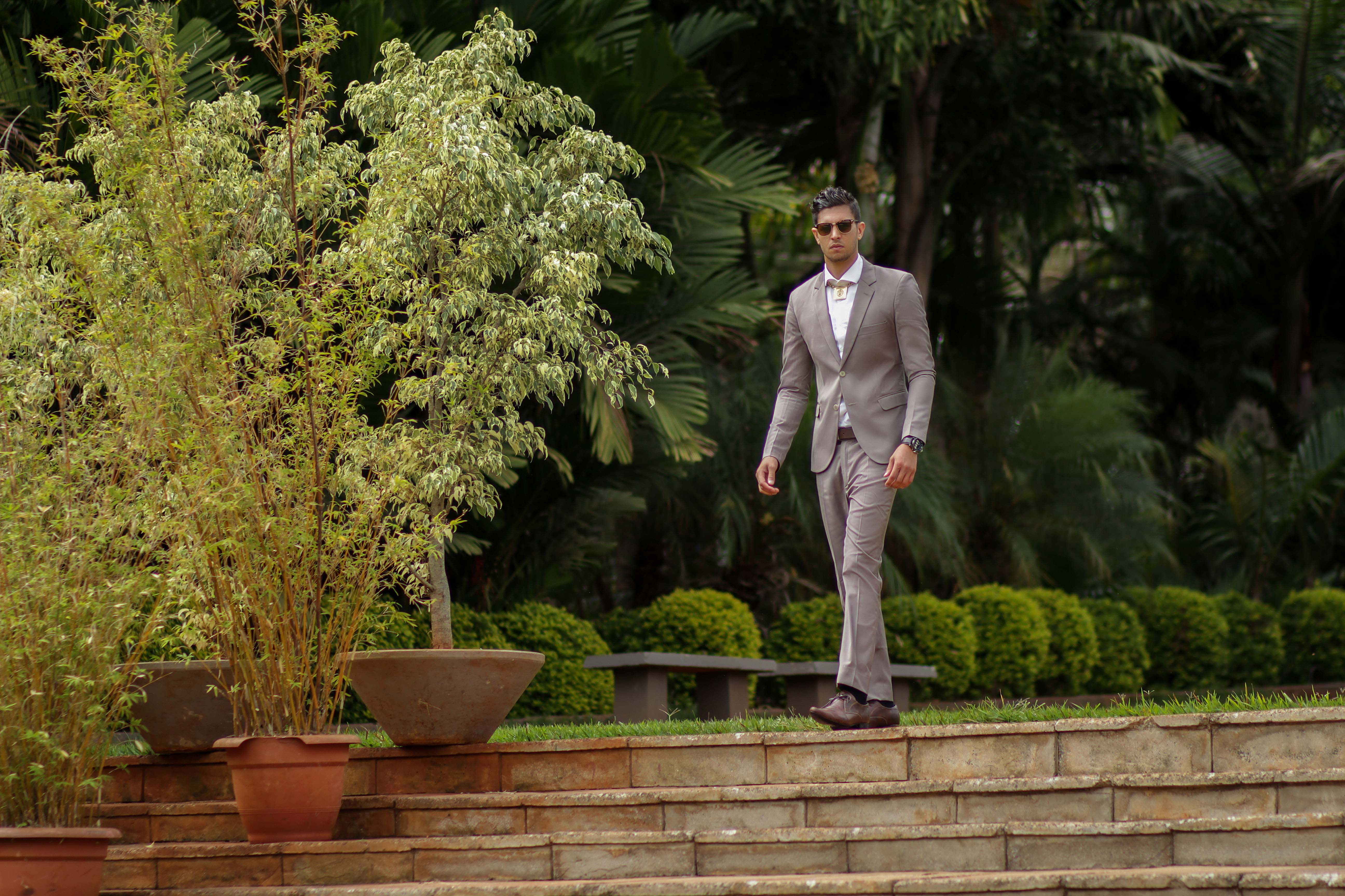 Adel Aljaedy dressed by Kenyan Stylista Franklin Saiyalel at Zen Gardens