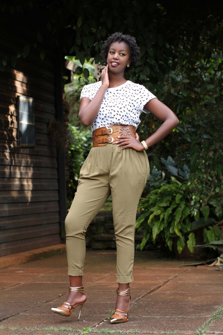 Kenya Lifestyle Fashion Bloggers :: Diana Machira Denim and Cateye