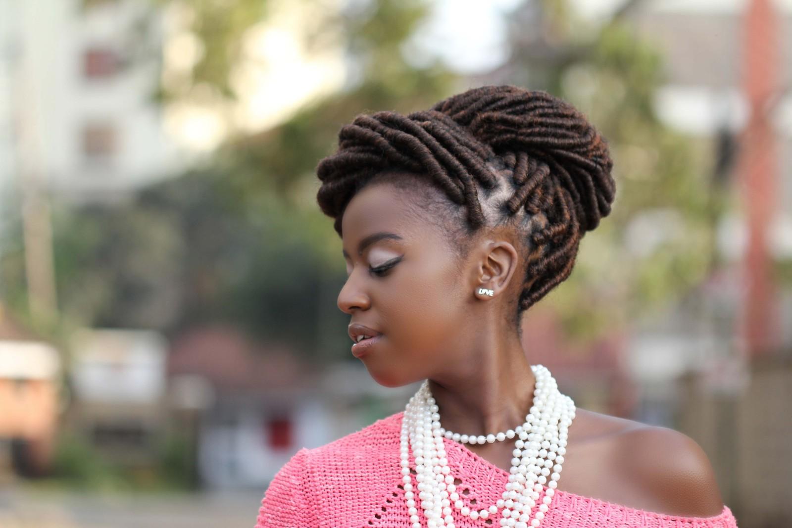Denim and Cateye Natural Hairstylist