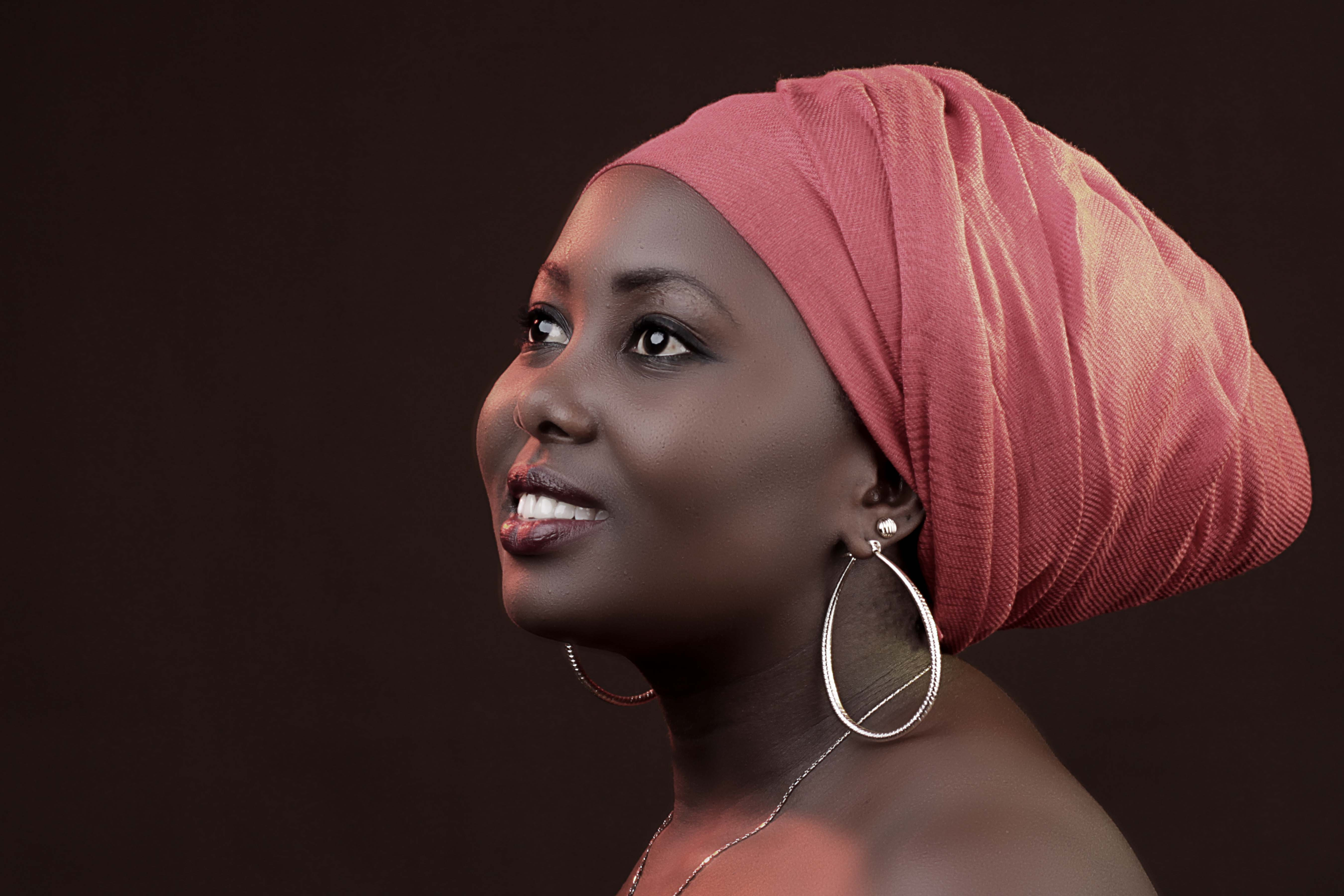 Kanga Leso Headwrap :: Kenyan African Head Gear