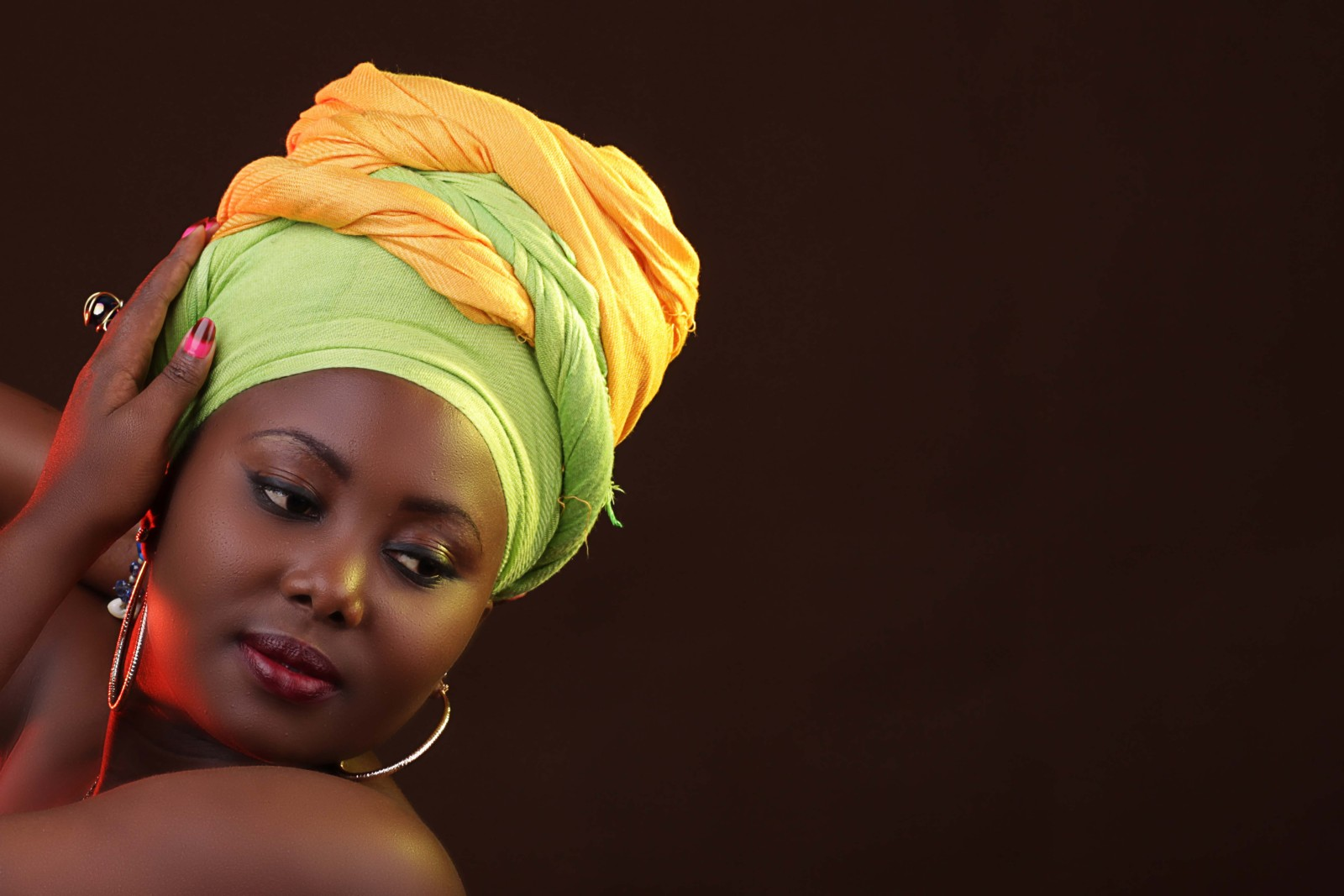 Kanga Leso Headwrap