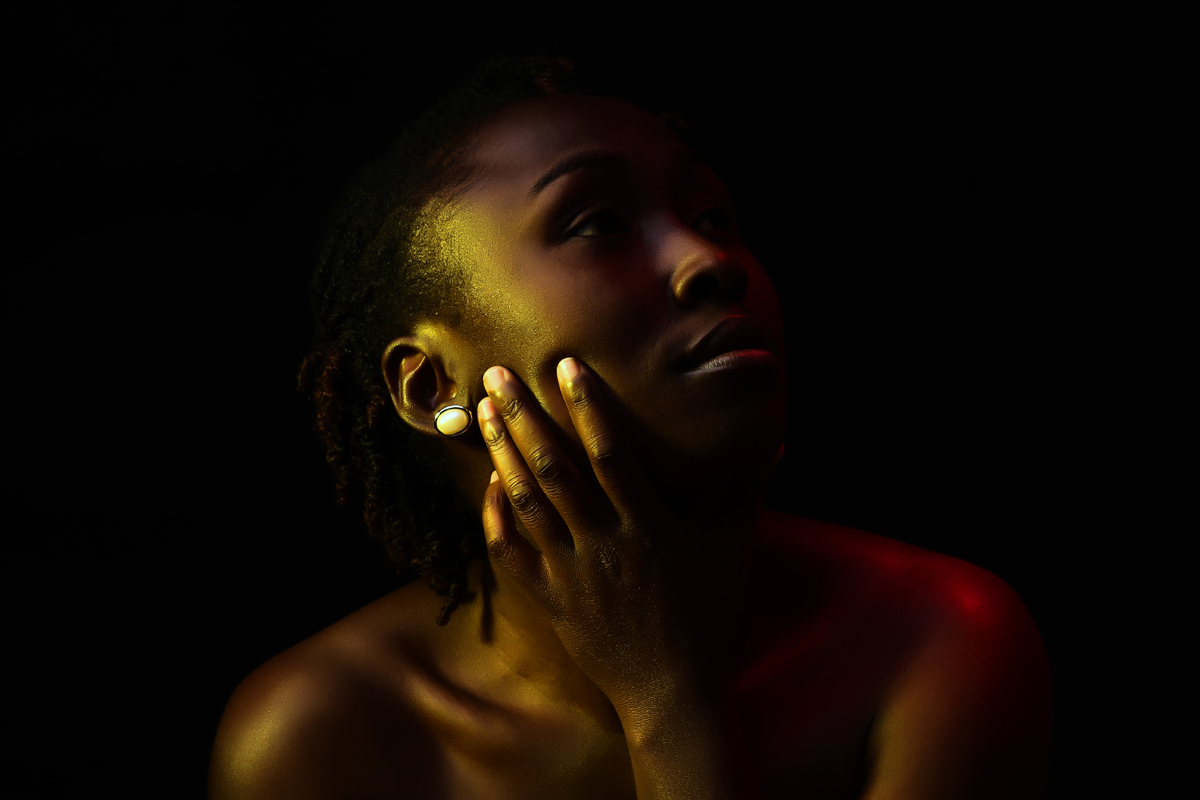 Evalyne Muthoki Studio Portraits :: Kenyan Creative Lighting Photography