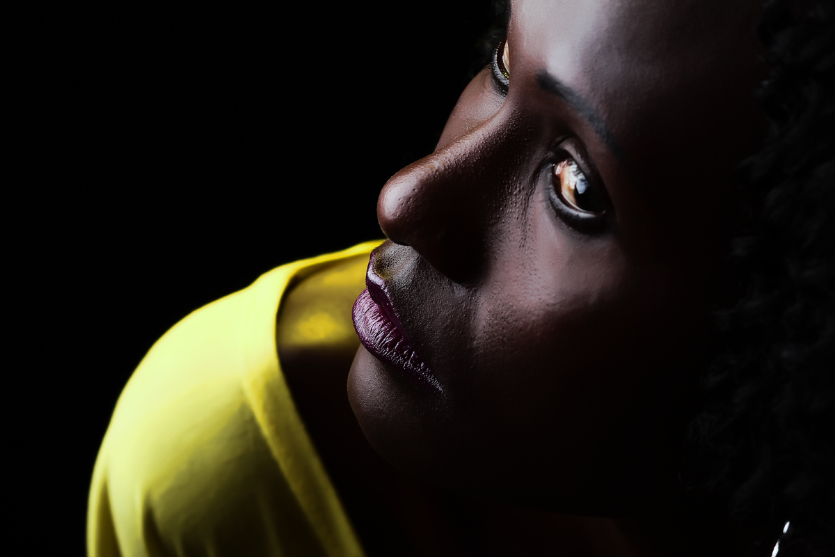 Clotilde Tukei Studio Portraits :: Creative Light Kenyan Photographer