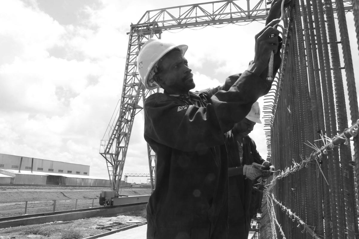 Mombasa Nairobi Standard Gauge Railway Line and station construction