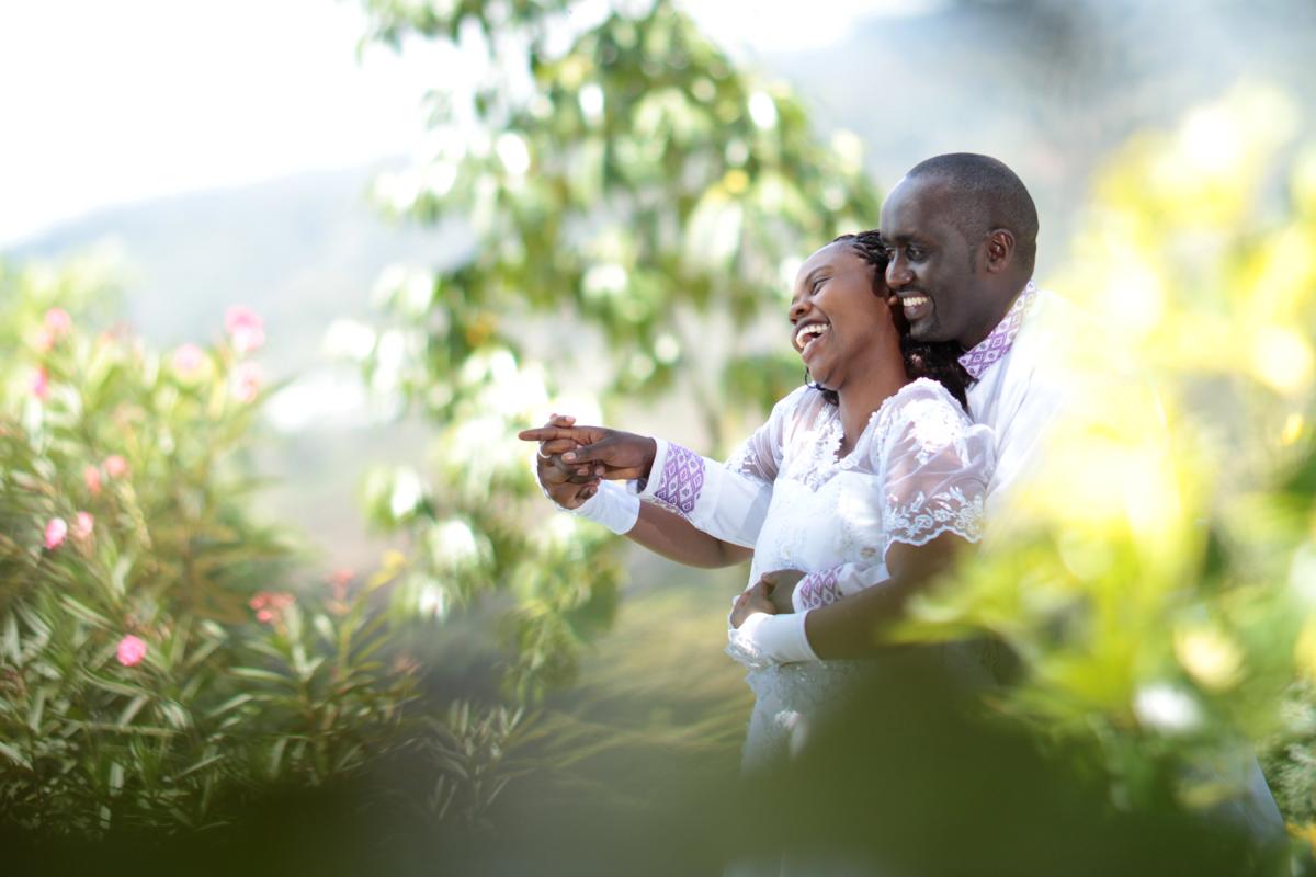 Nairobi Wedding Photographers | Wedding couple