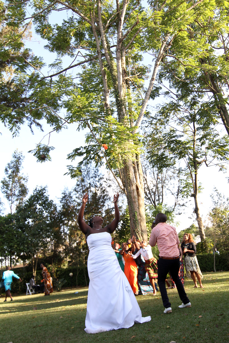 Valary & Andrew Love Story :: Ol Arabel Gardens Kenyan Wedding