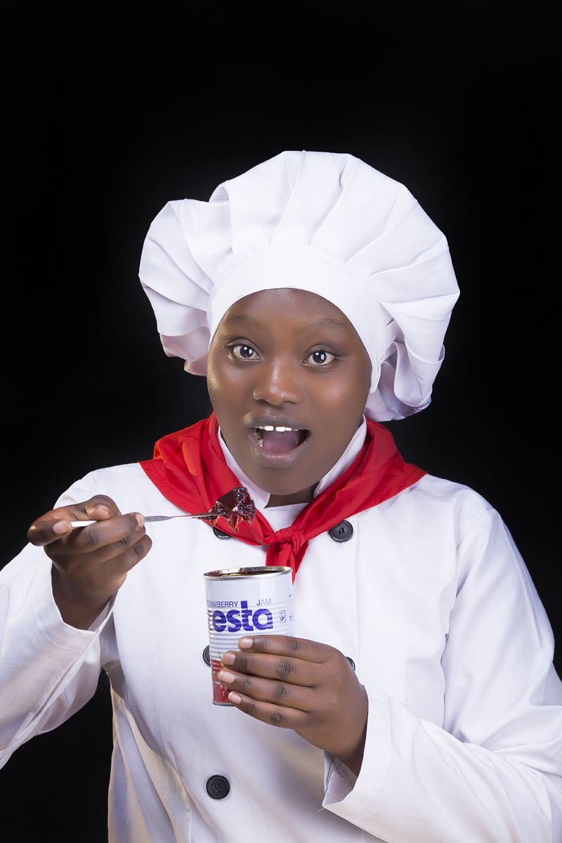 Kenya Chef Creative Portraits :: Nairobi Lifestyle Content Creators