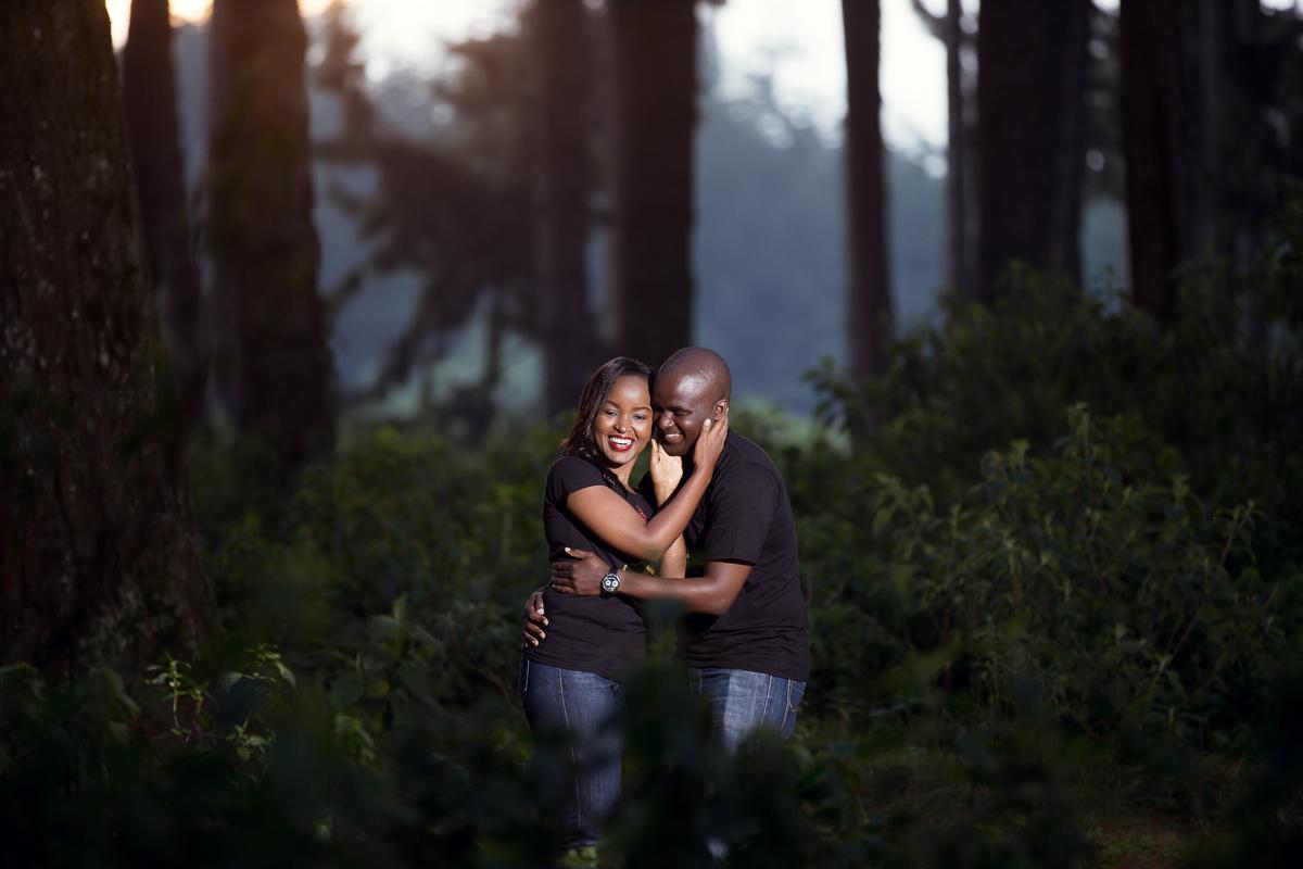 Grace & Moses Kinare Forest :: Nairobi Kenya Streets Engagement