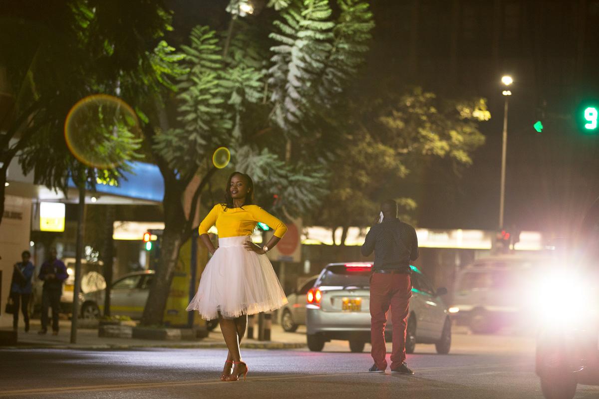 Nairobi Kenya Streets Engagement