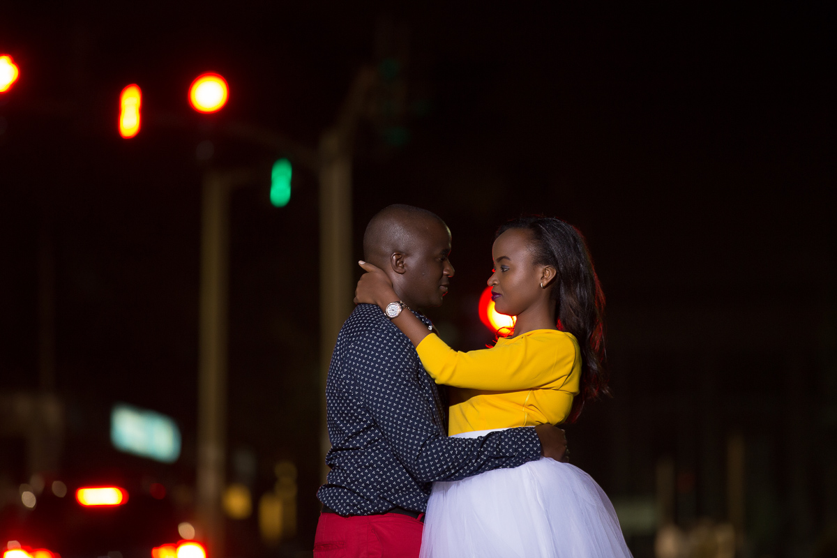Grace & Moses | Nairobi Kenya Street & Kinale Forest Engagement
