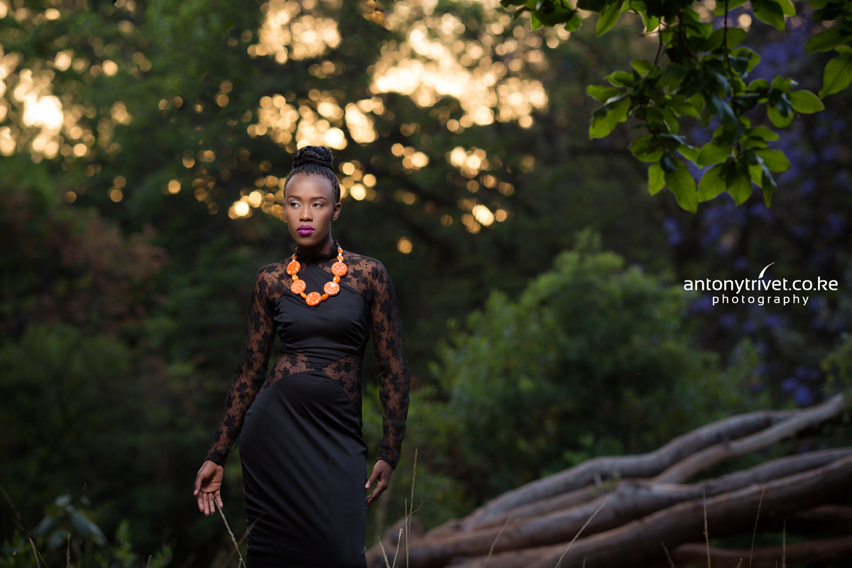 Fashion Photographers Kenya :: Nairobi Kenyan Makeup Artist Portraiture