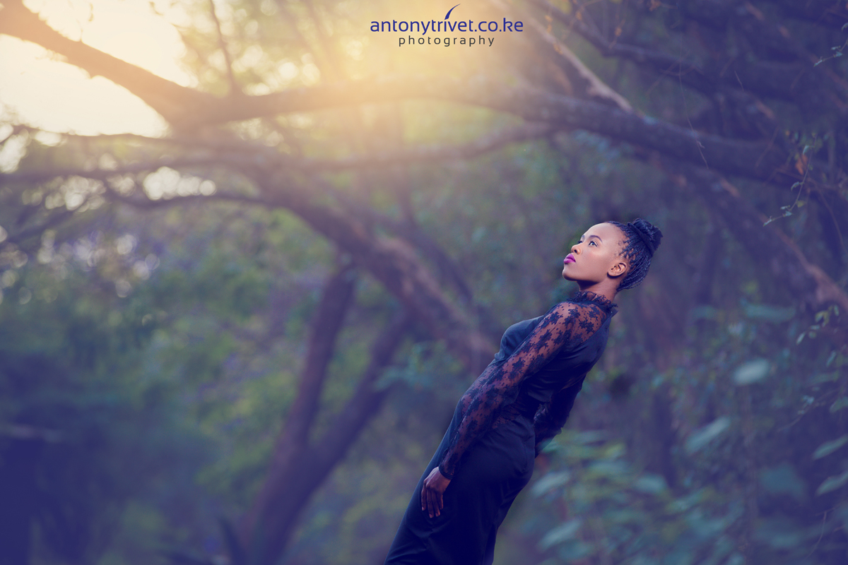 Fashion Photographers Kenya :: Nairobi Kenyan Makeup Artist Portraiture