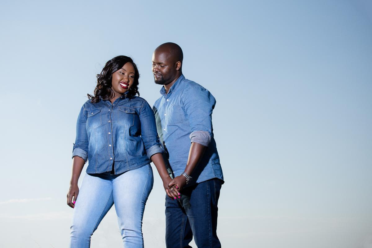 Rachael & Caxton :: Nairobi Kenya Lukenya Hills Engagement