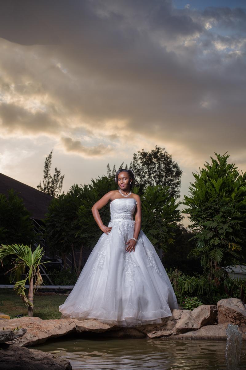 Nelly & Ricky :: Brookhaven Gardens Kenyan Wedding Photographers