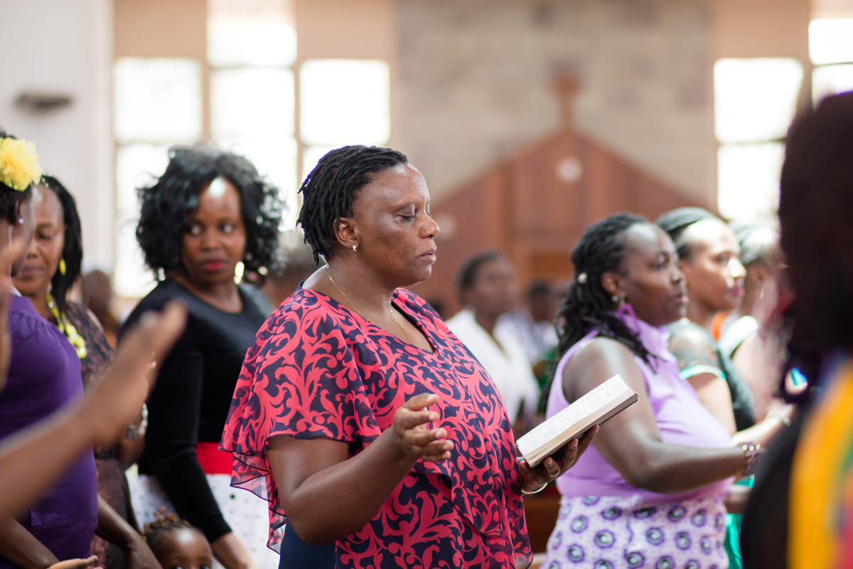 Rachael & Caxton at Our Lady Of The Rosary Catholic Church ridgeways Kiambu road