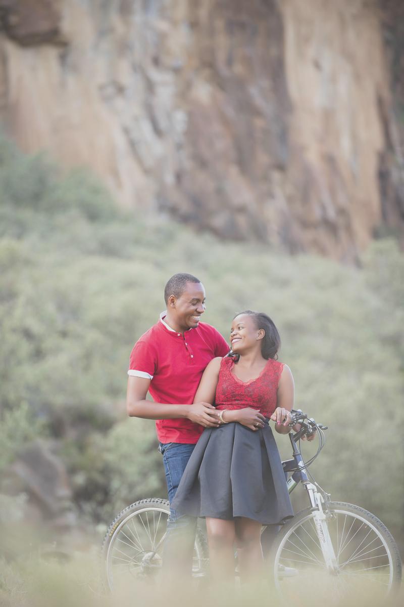 Rose & Rick :: Hells Gate National Park Naivasha Kenya Anniversary
